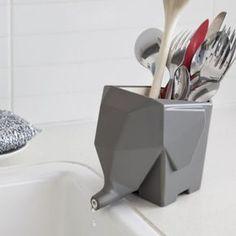 Abtropfgefäß Jumbo grau von Peleg Design jetzt im design3000.de Shop kaufen! Abtropfgefäße sind oft nicht das interessanteste Design-Objekt in...
