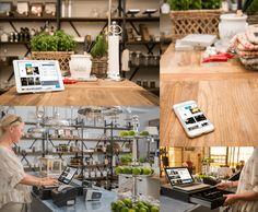 Feste Kassenplätze sind out -  PepperShop POS ist flexibel! Shops, Table Settings, Cash Register, Tents, Retail, Place Settings, Retail Stores