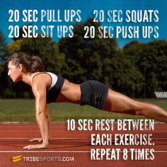 Full body HIIT workout in 16 minutes