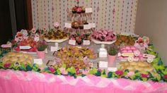 Festa Princesa - Princess Party Table Decoration and Backdrop