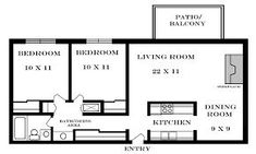 Small Apartment Plans 2 Bedroom Small Apartment Floor Plans New 2 Bedroom . 2 Bedroom Apartment Floor Plan, Small Apartment Plans, Small Apartment Layout, 2 Bedroom Floor Plans, Studio Apartment Floor Plans, 2 Bedroom House Plans, Two Bedroom Apartments, Two Bedroom Tiny House, Studio Floor Plans
