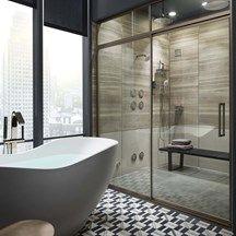Kelly Wearstler Liaison Elm Bathroom