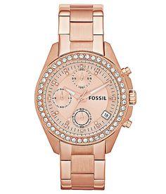 """""""Fossil Decker Watch"""" www.buckle.com"""