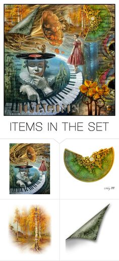 """""""imagine a world of music ... for Alexandra"""" by psyche8778 ❤ liked on Polyvore featuring art"""