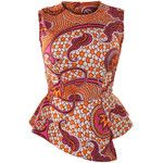 Retro Print Peplum Top African Clothes African Style Fashion: Use New look 6130 African Inspired Fashion, African Print Fashion, Africa Fashion, Fashion Prints, Style Fashion, African Print Dresses, African Fashion Dresses, African Dress, African Clothes