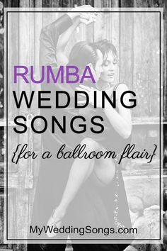 Like the Rumba dance? Want to incorporate the Rumba into your wedding for a ballroom flair? See our list of Rumba wedding songs. Wedding Reception Music, Wedding First Dance, Wedding Dance Songs, Wedding Playlist, First Dance Songs, Wedding Dj, Dance Music, Wedding Shot, Wedding Prep