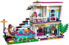 LEGO Friends 41135 - Livi's Pop Star House   da www.giocovisione.com #lego #legofriends #legofriends2016