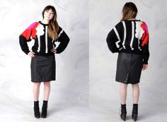 vintage 80's wool sweater by Jack Winter women's small  by foxandfawns, $24.00