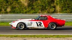 Nieuw in mijn Werk aan de Muur shop: Chevrolet Corvette at Historical Grand Prix…