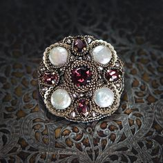 PRODUCTS :: JEWELRY :: WOMEN :: Brooches :: Brooch «Medieval»