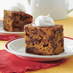 Pumpkin-Chocolate Chip Cake @Aundrea Schneebeli