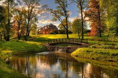 Bogstad Gard, Oslo, Norway by Belle Image Nature, Norway Landscape, Countryside Landscape, Beautiful Homes, Beautiful Places, Beautiful Scenery, Architecture Background, All Nature, Cross Paintings