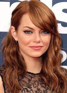 Emma stone, perfect hair colour