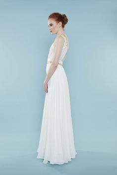 Look stunning on your wedding day in this elegant sheath gown. | Style Name: Florence |  Brand: Master/slave | Made to order |  #weddingdress #bridalgown #gownbridal #weddinggown #bridaldress #wedding #sheath