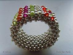beaded jewelry - ring