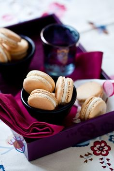 ♂food photography sweet Grapefruit Macarons With Anise Buttercream French Macaroons, Coconut Macaroons, Dessert Cake Recipes, Cookie Recipes, Desserts, Macarons, Macaron Recipe, Macaron Flavors, Healthy Cake