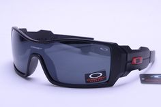 Oakley Limited Editions Sunglasses Black Frame Gray Lens 0733