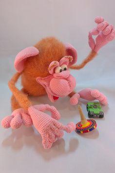Кокос - Вязаные ребетёнки - Галерея - Форум почитателей амигуруми (вязаной игрушки)