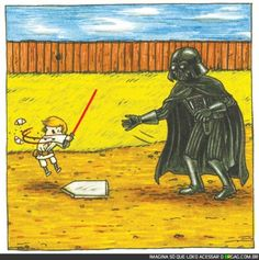 Parenting Level: Darth Vader style.