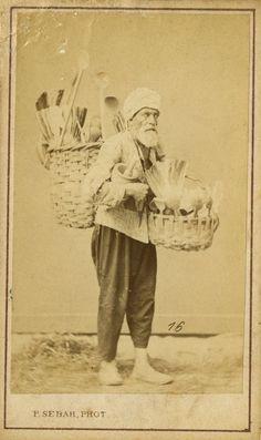 Sebah, Pascal - Wooden implements merchant