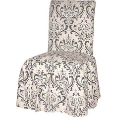 Lattice Dining Room Chair Slipcover - Sure Fit Dining Room Chair Slipcovers, Dining Room Chair Covers, Dining Room Chairs, Dining Area, Cool Desk Chairs, Cozy Living Spaces, Living Room, Futon Covers, Stylish Chairs