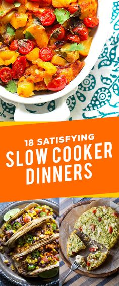 18 Satisfying Slow Cooker Dinners That Won