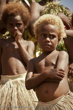 Children of Vanuatu Island / South Pacific
