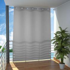 Variable Trennwand für Balkon oder Terrasse, als Sonnenschutz und seitlicher Sichtschutz - ein Balkon Vorhang wie eine seitliche Markise: jetzt im Shop.