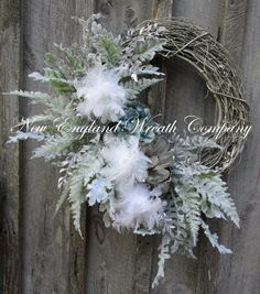 Christmas Wreath Holiday Wreath Designer by NewEnglandWreath