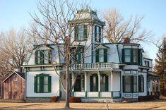 Buffalo Bill's home in North Platte, NE