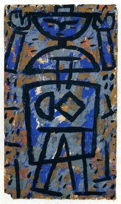 Paul Klee Haut le mains 1938« Haut les mains » 1938