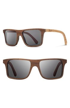 Shwood+'Govy'+53mm+Wood+Sunglasses+available+at+#Nordstrom
