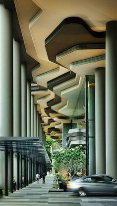Parkroyal Singapore Architecture4