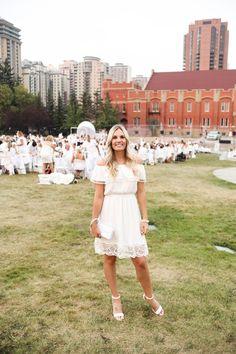 Dîner en Blanc Calgary | www.carlivh.com Calgary, White Dress, Van, World, Dresses, Fashion, Vestidos, Moda, Fashion Styles