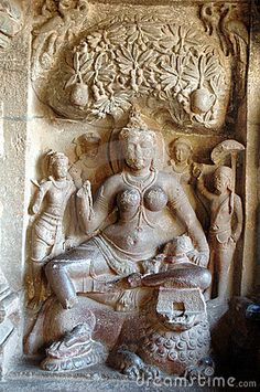 Ancient Hindu Rock sculptures, Ellora caves