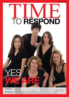 TIME magazine asked the question:  Are you mom enough?    And we responded.  YES WE ARE.