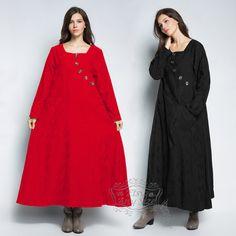 Anysize retro jacquard weave loose hem linen&cotton Spring