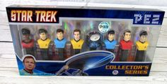 Star Trek Pez Dispensers Collectors Series New In Box Limited Edition 2008 #LimitedEdition #Pez #Collectors #New #StarTrek #Star #Trek