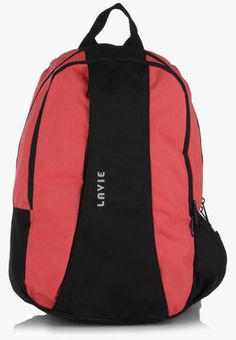 Lavie Uno 3 Pink Backpack Pink in colour, this trendy backpack from Lavie is certainly not to be missed out on. Featuring multiple compartments, this unisex backpack will allow you to keep your belongings in order. Furthermore, this polyester backpack is durable, light in weight and waterproof.  Extra Handle No Number of Compartments 1 No. of Pockets 3 Color Pink Material Polyester https://play.google.com/store/apps/details?id=com.womensdeals.womensdeals