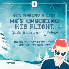 """How to Have a Holly Jolly Flight"""
