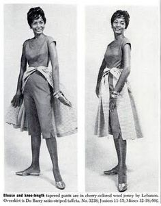 This look from a December issue of Ebony Magazine, from 1959: