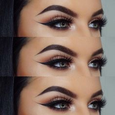 Wing liner ✔️ What is your favorite Morphe palette? Check out @jazzayling for some more looks with Morphe products #morphegirl