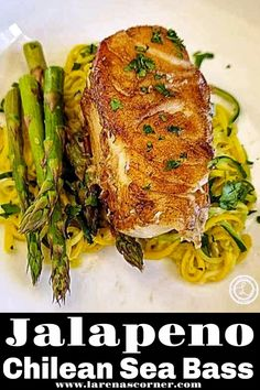 Jalapeno Chilean Sea Bass Recipe a flaky and firm pan-seared mouthwatering delicacy of a decadent white fish. Fancy enough for a company meal. #seafoodrecipe #seabassrecipe #ketorecipe #lowcarb Lobster Recipes, Fish Recipes, Seafood Recipes, Mexican Food Recipes, Keto Recipes, Gluten Free Recipes For Dinner, Best Dinner Recipes, Lunch Recipes, Easy Weeknight Meals