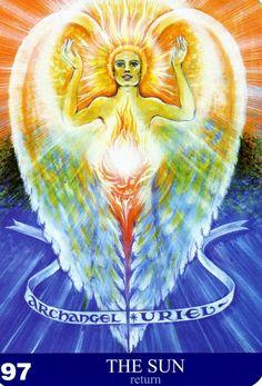 97 - Le soleil (retour) - New Aura Soma Tarot