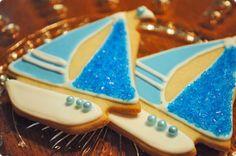 Sailboat Cookies