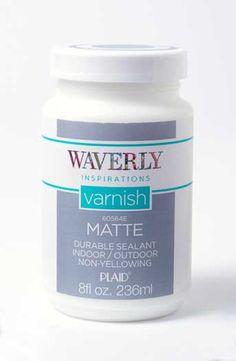 Waverly ® Inspirations Varnish - Matte, 8 oz.   Plaid Enterprises