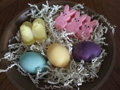 Easter wax tart melts.  www.backroad-hobbies.com