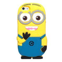 Silikonový kryt Minion pro iPhone 5/5s #case #kryt #iphone