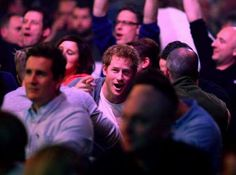 """Prince Harry at the wk darts 2015 at the Alexandra Palace in London  The match between Micheal van Gerwen and Jenkins  """"Mighty Mike"""" won the game   #princeHarry #princeCharming #Darts #Holland vs #England #MightyMike #great #royalfan"""