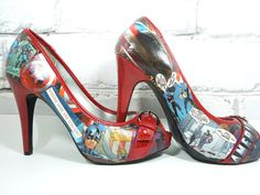 I want! I want!  Captain America shoes!!!